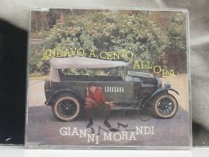 GIANNI MORANDI - ANDAVO A CENTO ALL' ORA CD SINGLE NM / EXCELLENT