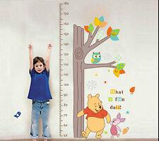 Winnie the Pooh Growth Chart Wall Stickers Nursery Décor
