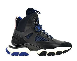 Moncler Tristan Hiking Sneaker Boots Black Size 12 New
