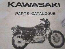 1976 Kawasaki KZ750  Parts List  Catalog Catalogue Fiche Manual Book B1 KZ 750