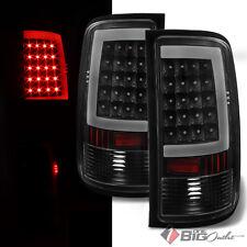 For 07-13 Sierra, 2014 2/3500HD Blk LED Tail Lights w/C-Shape Parking Light-Tube
