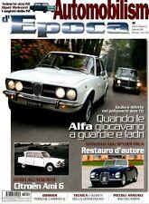 Automobilismo d'Epoca  2007 : Alfa Giulia/Alfetta , Citroën Ami 6, Opel Rekord,