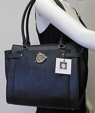 Anne Klein Black Large Shoulder Bag Handbag Tote Purse