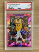 2019-20 Prizm LEBRON JAMES PINK ICE PSA 9 MINT - Los Angeles Lakers - NBA Champs
