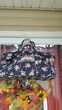 Vera Bradley Floral New Hope Pattern ~Breast Cancer Duffle Bag