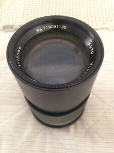 Vivitar No. 119091135 AUTO 1:2.8 Camera Lens - Rare
