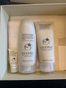 Liz Earle Bourbon Vanilla & Clove Bud 3 Piece Gift Set + 2 Muslin Cloths + Box