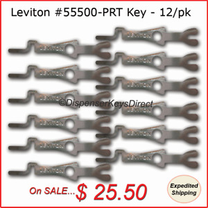 Leviton #55500-PRT - Tamper Proof Electrical Switch Key - (12/pack)
