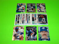 1992 DONRUSS MCDONALDS MVP BASEBALL 32 CARD COMPLETE SET BLUE JAYS