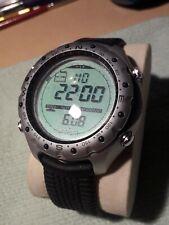 SUUNTO X-LANDER ADVENTURE WATCH Barometer, altimeter, compass, thermometer.