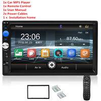 7'' Car Radio Video 2Din MP5 player BT/FM/TF/USB Video Multimedia System WINCE