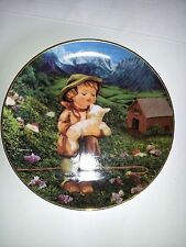 "M.J. Hummel Gentle Friends Plate ""Lost Sheep """