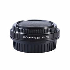 FD-EOS Glass Focus Infinity Mount Adapter Ring FOR Canon FD Lens to Canon EOS EF