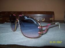 Cazal Vintage Sunglasses Model 907 rare Pink from 1988 -PREVIOUSLY OWNED