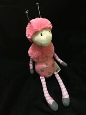 Jellycat Bugbelle Butterfly Plush Soft Toy Pink Wings Dot Stripe Antennae New