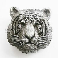 Tiger Animal Metal Belt Buckle