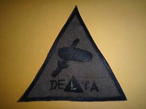 Vietnam War Hand Sewn Subdued Patch US 5th SFGrp SFOD B-52 Project DELTA