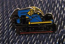 Great advertising push pin for Elf Aquitaine Fuel Oil Formula one racing car