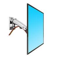 Wall Mount Gas Strut Full Motion LED LCD Monitor Tilt Arm Bracket 19 - 27 in
