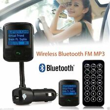 LCD Car Kit MP3 Bluetooth Player FM Transmitter Modulator SD USB Remote Controls