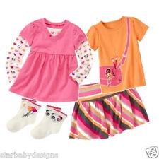 NWT Gymboree PANDA ACADEMY Outfit,Top,Shirt,Skirt,2 Pack Socks,Size 4