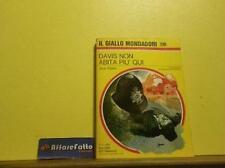 ART L1071 LIBRO DAVIS NON ABITA PIU QUI - RIPLEY - ANNO 1972