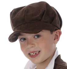 BOYS VICTORIAN HAT / CAP - BOOKWEEK OLIVER CHIMNEY SWEEP PEASANT AGE 4 5 6 7 8 9