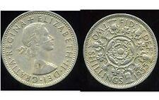ROYAUME UNI  two shilling 1955  ( bis )