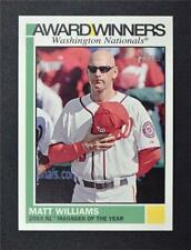 2015 Topps Heritage Award Winners #AW8 Matt Williams - NM-MT