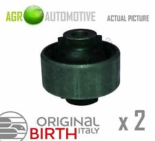 2 x BIRTH FRONT AXLE CONTROL ARM WISHBONE BUSHES PAIR OE QUALITY REPLACE 2001