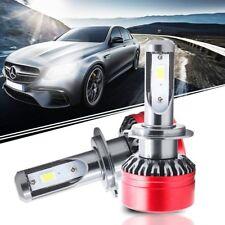 H7 8000LM LED Headlight Kit Replacement Fog Light Bulbs 6500K White CA