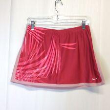 NIKE Women's Dri-Fit Pink Print Skirt Skort Small S 4-6