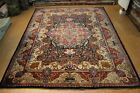 10'x13' Vintage TABRIS RUG CIRCA 1930'S AUTHENTIC SIGNED RUG Jewel colors