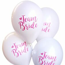 10 Team Bride Hen Night Balloons with Free Ribbon from Utterly Splendid