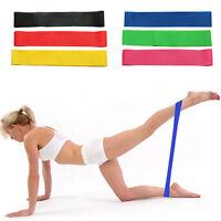 6 Colores Banda de resistencia Ejercer Tensión Cinturón Entrenamiento Fitness