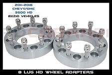 "2011-2016 SILVERADO 3500 HD WHEEL SPACER ADAPTERS 3"" FOR DUALLY WHEELS ONLY"