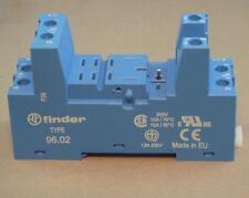 Finder 96.02.SMA - 2CO-DPDT - 12A-250V Clamp Terminal Socket