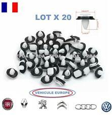 20 x agraffes plastique fixation garniture panneau de porte RENAULT PEUGEOT FIAT