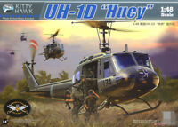 Kitty Hawk KH80154 1/48 US Bell UH-1D Huey Utility Helicopter Plastic Model Kit