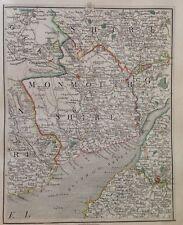 Cary Antique Map1794 Bristol Newport Cardiff Monmouth Abergavenny Severn Estuary