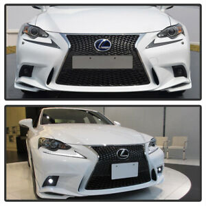 For 2014 2015 2016 Lexus IS F-Sport LED Fog Lights Lamps w/Switch (No Bulbs)