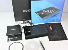 Wacom Bamboo USB Graphic Design Drawing Touch Tablet w/ Stylus Pen & Box CTH-460