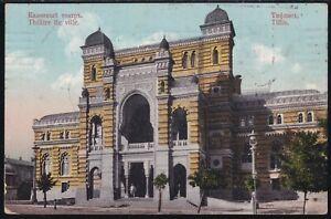 1910 Imperial Russia old postcard TIFLIS sent RIGA to REVEL