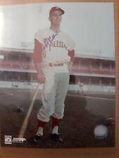 Johnny Callison Authentic Autographed 8 X 10 Photograph--Philadelphia Phillies