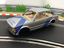 Scalextric Car Ford Escort XR3i Silver C345 Body Shell Interior Cabin Chassis