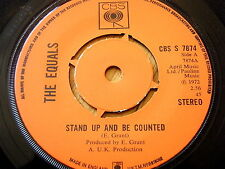 "THE EQUALS-Stand up and be counted 7"" vinyle"