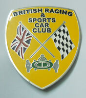 Car Badge-British Racing & sports car club grill badge emblem logos metal enamle