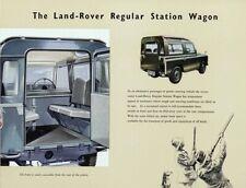 LAND ROVER 1957-1958 SERIES-I '88' RETRO POSTER BROCHURE CLASSIC ADVERT A3!!
