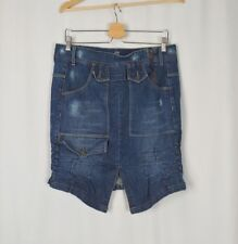Marithe Francois Girbaud size 34 Denim Blue Jean Skirt