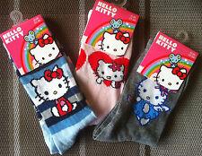 Hello Kitty Socken  3 Paar Strümpfe Söckchen Gr. 31-34